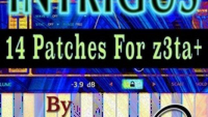 ZenLizard Intrigus 14 Patches for Z3ta
