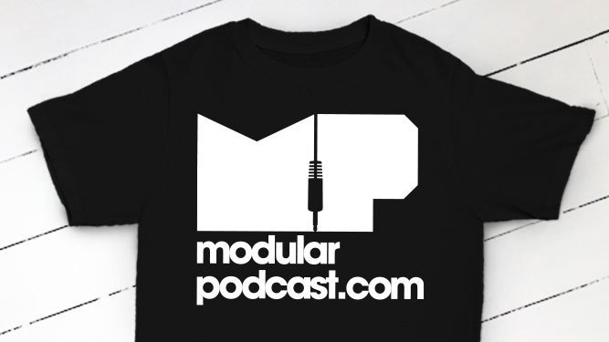 Modular Podcast Black