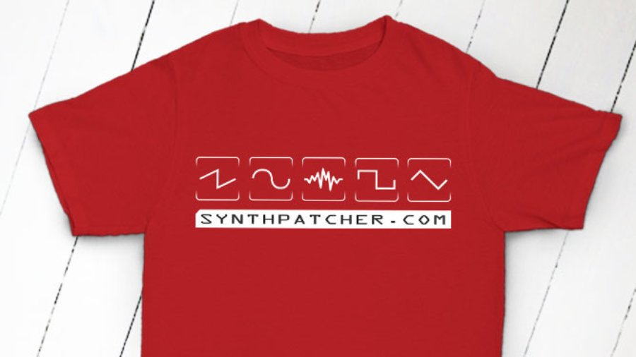 SynthPatcher Waveforms Red White